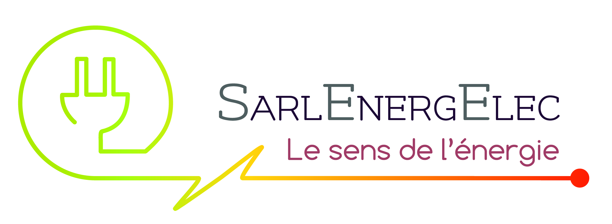 Création de logo / charte graphique / site web : Sarl Energelec