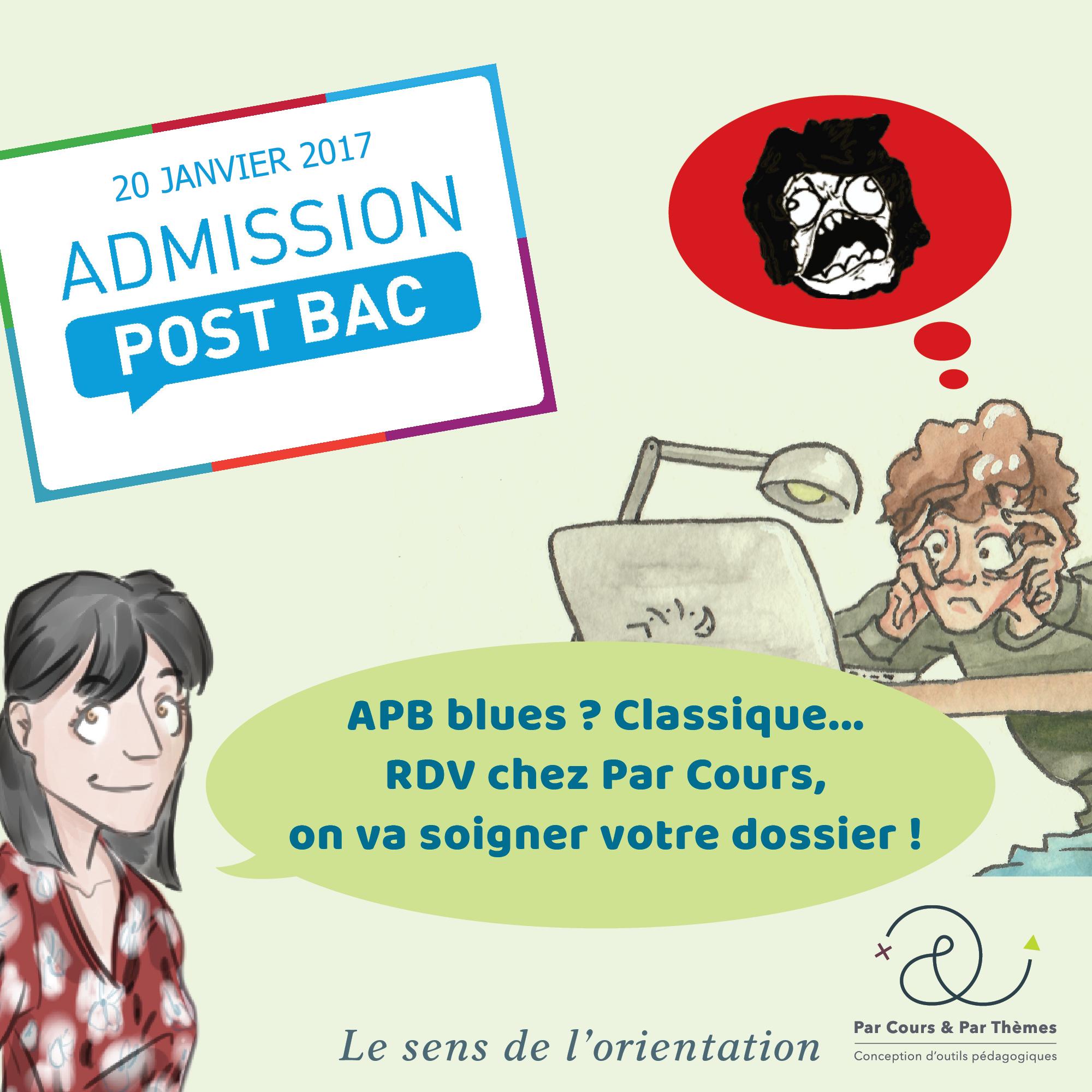 APB : Admission Post Bac ! SAS Par Cours & Par Thèmes