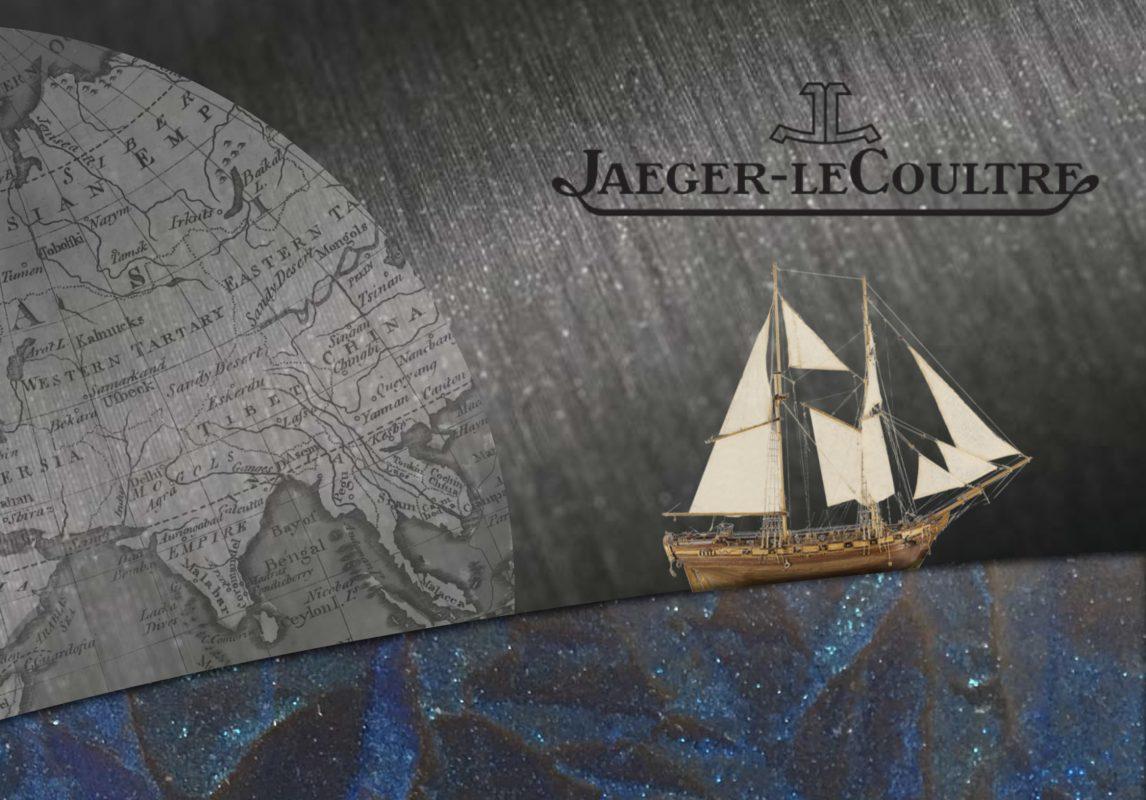 Vitrine horlogère pour Jaeger LeCoultre